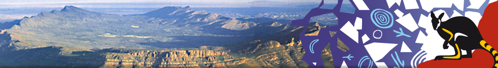 Wilpena Pound at sunset